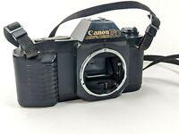 Canon t50 35mm slr film camera body- untested