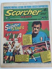 Scorcher and Score Comic 11 November 1972 Superstars Luigi Riva Calgari & Italy