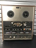 Vintage AKAI GX 280D SS 4 channel quad REEL TO REEL recorder Super Clean Tested