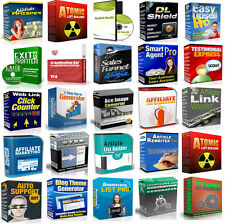 50 Internet Marketing Software W/ Master Resale Rights Sell Make Money Online