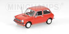 Minichamps 400121102 AUTOBIANCHI A112 - 1974 - RED - 1:43  #NEU in OVP#