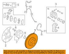 SUBARU OEM 08-15 Forester Front Brake-Disc Rotor 26300SA001