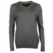 Woolen V Neck Regular Size Hoodies & Sweats for Men