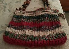 ROXY Multi Knit/Crochet Purse