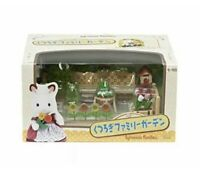 Calico Critters Sylvanian Families Relaxation Room Family Garden