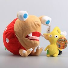 PIKMIN - SET 2 PELUCHES / YELLOW PIKMIN & BULBORB / 2 PLUSH TOYS SET 14&24cm
