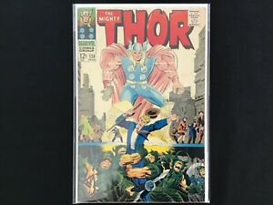 THOR #138 Lot of 1 Marvel Comic Book - BV $38!