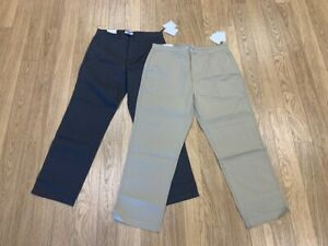 NEW-MEN'S CALVIN KLEIN STRAIGHT FIT REFINED PANTS, # 40ZB670, ASST COLOR  $36.00