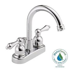 Westbrass WAS00X-26 Classic High Arc Water Saver Bathroom Lavatory Faucet Chrome