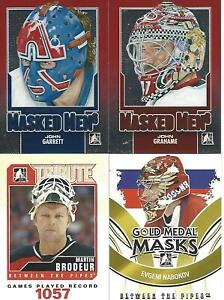 2013-14 IN THE GAME BETWEEN THE PIPES JOHN GRAHAME MASKED MEN 6