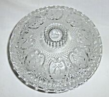 Pressed Glass Candy Dish With Lid Hearts & Flowers Design from Pasari Indonesia