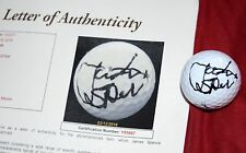 JORDAN SPIETH Signed Titleist Golf Ball JSA - Masters - US Open