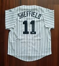 Gary Sheffield Autographed Signed Jersey New York Yankees PSA DNA