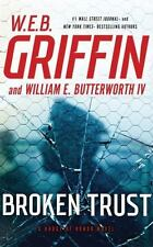 BROKEN TRUST (Badge Of Honor) unabridged audio CD by W.E.B. GRIFFIN - Brand New!