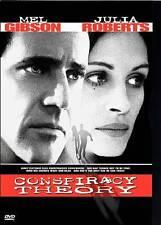 Conspiracy Theory New DVD Mel Gibson Julia Roberts Patrick Stewart
