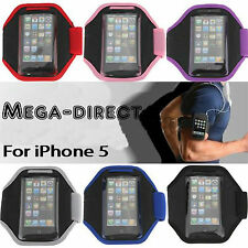 #9006B Blue Gym Sports Running Armband Arm Band Belt Bag Case Cover For iPhone
