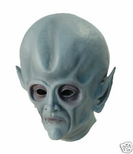 ALIEN OVERHEAD RUBBER MASK FANCY DRESS ADULT BRAND NEW