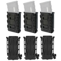 1/2/3Pcs Tactical Molle Magazine Pouch 5.56 7.62 9 mm Rifle Mag Carrier Holder