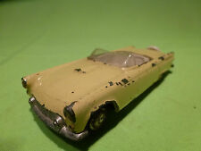 TEKNO DENMARK  1:43    FORD THUNDERBIRD   YELLOW   -    IN  GOOD  CONDITION