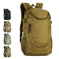 Mens Military Backpack 25L1000D Nylon Backpack Hiking Rucksack Tactical Backpack