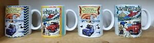 2CV6 Brochure Mugs with Cover Pictures of TinTin choice of 4 polymer/ceramic UK