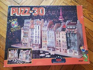 Puzz 3D Paris 1859 Quai de Megisserie Wrebbit Puzzle 774 Pieces NEW SEALED