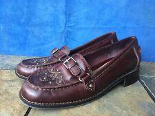 SHOE SALE On AEROSOLES Embellished Loafer Flats Oxfords Leather Women Shoes Sz 7