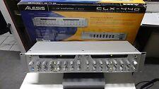 Mastering Studio Dual Compressor Alesis CLX440 Dual  2x Stereo,Sidechain,Key