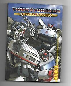 Transformers: Infiltration Manga ( Transformers IDW ) By Simon Furman