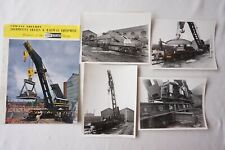 c1960s Cowans Sheldon Locomotive Cranes & Railway Equipment Publicity Booklet