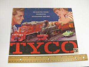 TYCO 1966-1967 HO ELECTRIC TRAINS CATALOG MODEL RAILROAD ROADRACING 16 PGS