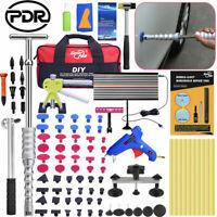 US 100PCS PDR Tools Dent Puller Lifter/Slide Hammer Hail Ding Removal Repair Kit