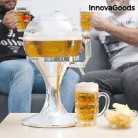 Bierzapfanlage Bierkühler Getränkespender Bier Glas Getränkekühler 3,5 L-Fässer