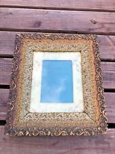 More details for very ornate antique easel photo frame