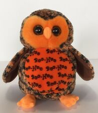 TY Beanie Babies Boo Who? Halloween Owl Hallmark Exclusive 2007 Tag Removed
