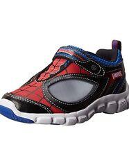 STRIDE RITE Spidey Reflex Leather Light Up Athletic Shoes Sz 6.5 M (D) $56 NWB