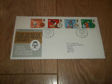 FIRST DAY COVER ROYAL MAIL THE DUKE OF EDINBURGH'S AWARD ~ 12 AUGUST 1981