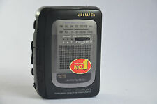 AIWA STEREO RADIO CASSETTE RECORDER HS-JS345 Personal Tape Player Walkman