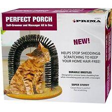 Perfect Porch Scratcher Cat Kitten Self Massage Self Groomer Scratch Toy Joy NEW