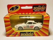Solido 1204 Porsche 934 1/43 Modèle 80er Ans Dans neuf dans sa boîte!!!
