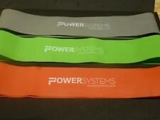 Power Systems Versa-Loop Resistance Band SET {asnew}= 1 GREEN +1 RED  + 1 GREY