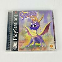 Spyro the Dragon Sony PlayStation One 1998 Video Game Complete