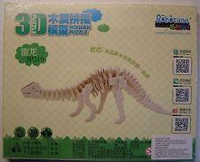 3D  PUZZLE  IN  LEGNO   39  pezzi   nuovo  Dinosauro