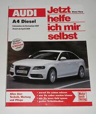 Repair Manual Audi A4/Avant Tdi Diesel Type B8, From 2007