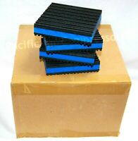 4'' x 4'' x 7/8'' INDUSTRIAL ISOLATOR PADS CASE OF 24 VIBRATION PADS ALL RUBBER