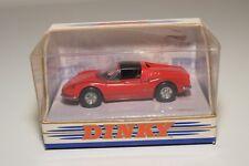 V 1:43 MATCHBOX DINKY DY-24 DY 24 DY24 FERRARI DINO 246 GTS 1973 RED MINT BOXED