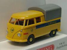 Wiking VW T1 Doppelkabine LUFTHANSA - 0789 04 - 1/87