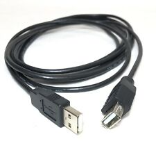 USB 2.0 A Male to A Female Extension Data Sync Cable Lead 3m PC Laptop