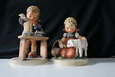 Goebel Hummel Figurines - #361 Favorite Pet / #345 A Fair Measure