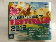 Clubbers Guide to Festivals 2012 CD Example/Avicii/Guetta... NEW & Sealed BW14